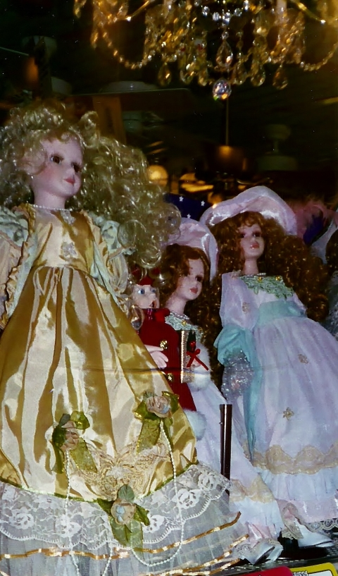 elegant dolls